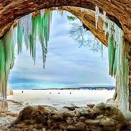 Michael Palko - Winter Cave on Grand Island