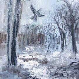 Winter Caws by Robin Maria Pedrero