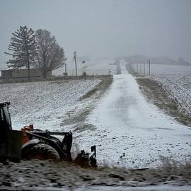Karen Majkrzak - Winter Color on the Farm