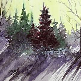David K Myers - Winter Watercolor