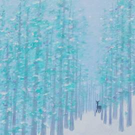 Jan Roelofs - Winter Deer Path