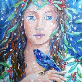 Winter Fledgling  by Trudi Doyle