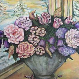 Winter Flowers by Rae Chichilnitsky