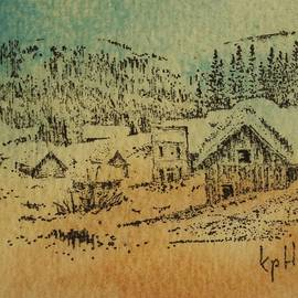 Winter Garnet Ghost Town Montana by Kevin Heaney