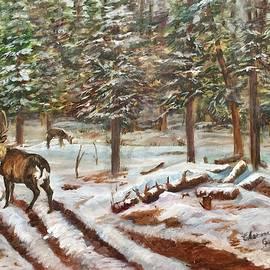 Charme Curtin - Winter Grazing