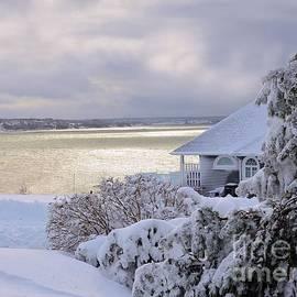 Elaine Manley -   Atlantic Ocean Winter Harbour