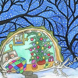 Winter home by Julie McDoniel