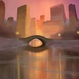 Alexander Sydney - Winter in Central Park