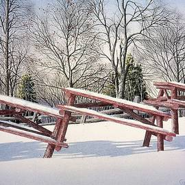 Conrad Mieschke - Winter in the Park