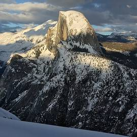 YT Photo - Winter in Yosemite -  Half Dome