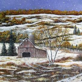 Brian Mickey - Winter Landscape