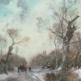 Winter Landscape - George Sheffield