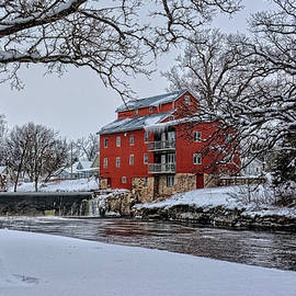 Bonfire Photography - Winter Mill