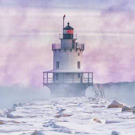 Winter Morning At Spring Point Ledge by Jesse MacDonald