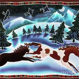 Winter Night Run by Harriet Peck Taylor