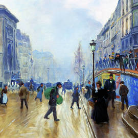 Winter On The Boulevard by Isabella Howard