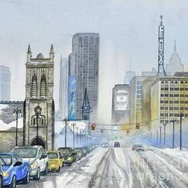 Jamie Alexander - Winter on Woodward Avenue