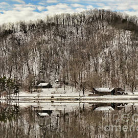 Kerri Farley - Winter Reflections at Hungry Mother State Park