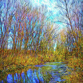 Joel Bruce Wallach - Winter River Wandering