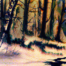 Winter Scene by Teresa Ascone