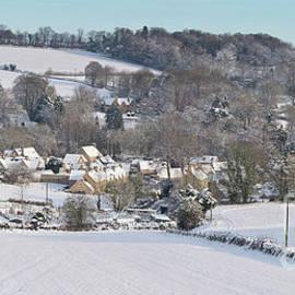 Winter Snowfall Upper Slaughter - Tim Gainey