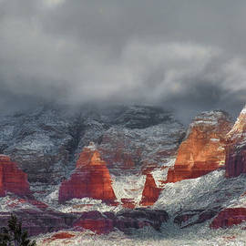 Donna Kennedy - Winter Storm In Sedona