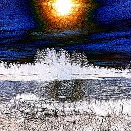 Winter Sunburst by Nick Heap