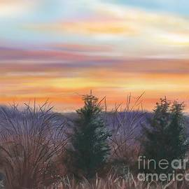 Susan Sarabasha - Winter Sunrise