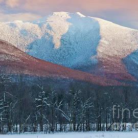 Alan L Graham - Winter Sunset At Mount Mansfield