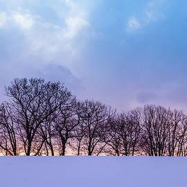 Edward Muennich - Winter Sunset.