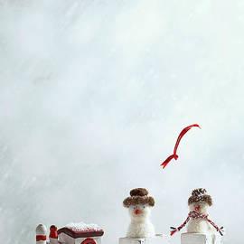 Amanda Elwell - Winter Trainset With Snowmen