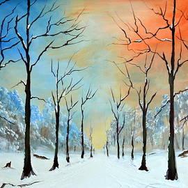 Winter Tranquility by Deepa Sahoo