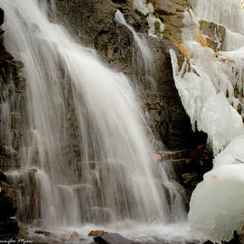 Jennifer Myers - Winter waterfall