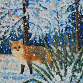 Jim Rehlin - Winter Yucca / Red Fox