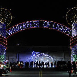 Winterfest Of Lights 2016 by Robert Banach