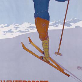 Wintersport in Graubunden, 1906  - Walter Koch