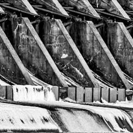 Wisconsin River Dam by Steven Ralser