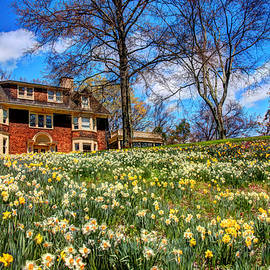 Wisner House, Reeves - Reed Arboretum 3 by Allen Beatty