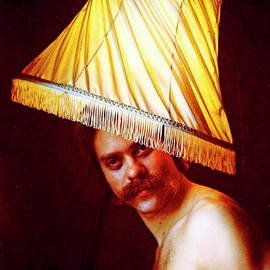 With A Lampshade On His Head