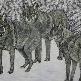 Sofya Mikeworth - Wolves in Winter