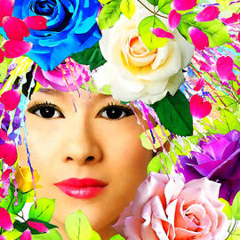 Stacey Chiew - Woman And Roses