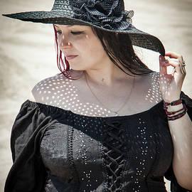 Yuri Lev - A Woman in Black, Brighton Beach, New York, NY