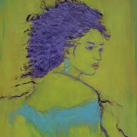 Crina Iancau - Woman in blue