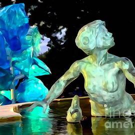 Ed Weidman - Woman In Fountain