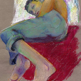 Woman Napping by Cecily Mitchell