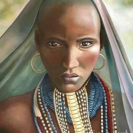 Woman of Sudan by Corinne Farago
