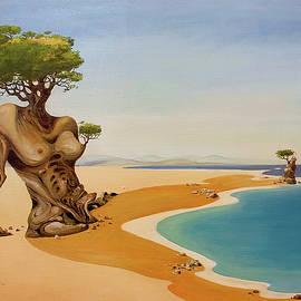 Woman - Olive Tree by Vasko Taskovski