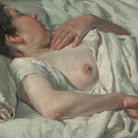 Woman Sleeping - Francesc Gimeno