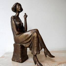 Milen Litchkov -  Woman with a cigarette