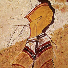 Maria Woithofer - Woman with minoan outfit